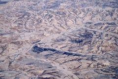 Terre de neige Images stock
