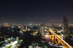Terre de nuit Image libre de droits