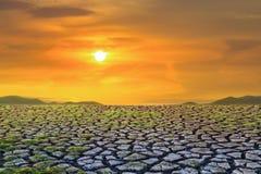 Terre de sécheresse Photo libre de droits