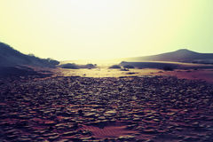 Terre de sécheresse Image libre de droits