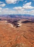 Terre del canyon Fotografia Stock