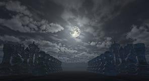 Terre des échecs (rendu 3D) Photos stock