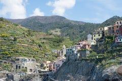 Terre di Cinque in Italia Fotografie Stock