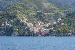 Terre di Cinque in Italia Fotografie Stock Libere da Diritti