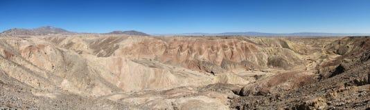 Terre en friche de désert Photo libre de droits