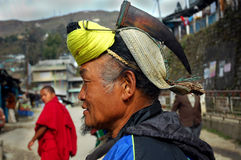 Terre et les gens d'Arunachal In India photo libre de droits