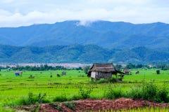 Terre et maison de Hongsa Photo libre de droits