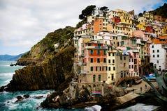 Terre Ligurie Italie de cinque de Vernazza images libres de droits