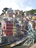 terre riomaggiore Италии cinque Стоковое фото RF
