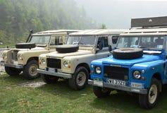 Terre Rover Series III e V8 image libre de droits