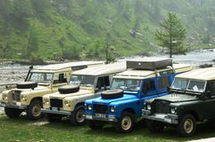 Terre Rover Series III e V8 photos libres de droits