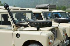 Terre Rover Series III e V8 photos stock