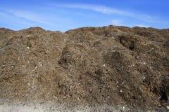 Terreautage de l'entrepôt extérieur de compost écologique Photos stock
