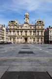 The Terreaux square in Lyon city Royalty Free Stock Images