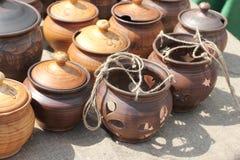 Terrecotte di ceramica Fotografia Stock