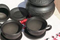 Terrecotte di ceramica Fotografie Stock Libere da Diritti