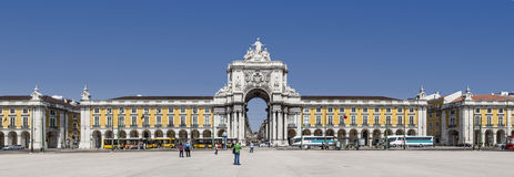 Terreiro do Paço or Commerce Square Lisbon Royalty Free Stock Photography