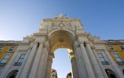 Terreiro do Paço - Lissabon, Portugal Royalty-vrije Stock Afbeelding