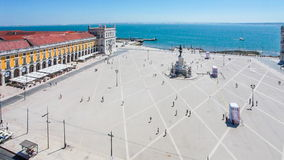 Terreiro do Paco in Lisbon Stock Photo