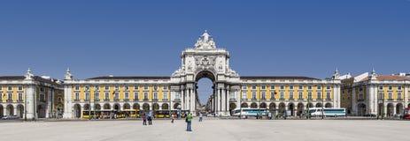 Terreiro do Paço or Commerce Square Lisbon Royalty Free Stock Photography