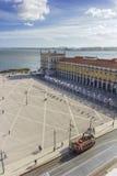Terreiro font Paço - Lisbonne photographie stock libre de droits