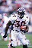 Terrell Davis. Denver Broncos RB Terrell Davis.  Image taken from color slide Royalty Free Stock Image