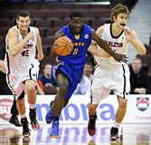 Mężczyzna koszykówki CIS finały fotografia stock