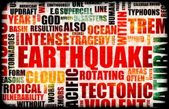 Terremoto Imagem de Stock Royalty Free