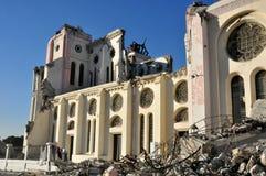 Terremoto 2010 de Haití Imagen de archivo libre de regalías