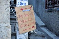 Terremoto 2010 de Haití Fotografía de archivo libre de regalías