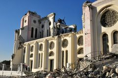 Terremoto 2010 de Haiti Imagem de Stock Royalty Free
