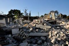 Terremoto 2010 de Haiti Foto de Stock