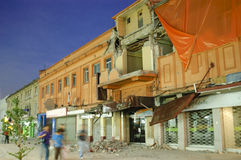 Terremoto Foto de archivo libre de regalías