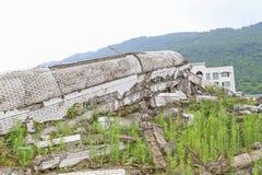terremoto Fotografia Stock
