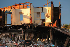 Terremoto-CBD de Christchurch Imagens de Stock Royalty Free