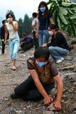 Terremoto in Cina Immagini Stock Libere da Diritti