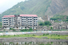 terremoto de 2008 512 Wenchuan Imagens de Stock Royalty Free