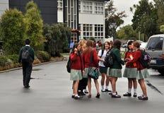 Terremoto de Christchurch - Burnside y Avonside Fotografía de archivo