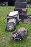 Terremoto de Christchurch - cementerio de la calle de Barbados Foto de archivo libre de regalías