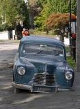 Terremoto de Christchurch - coche en la licuefacción Fotos de archivo libres de regalías