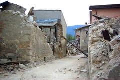 Terremoto de Italy Imagens de Stock