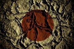 Terremoto de Japão Ilustração do Vetor