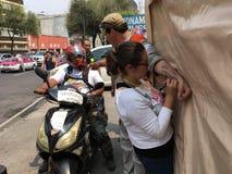 Terremoto de México imagenes de archivo