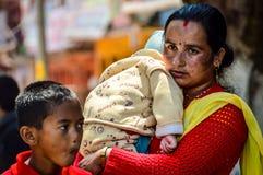 Terremoto de Nepal Imagens de Stock Royalty Free