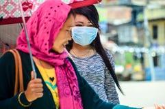 Terremoto de Nepal Imagens de Stock
