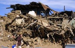 Terremoto de Richter 8.8 en Chile Fotos de archivo
