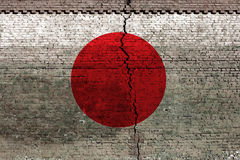 Terremoto del Giappone Immagini Stock