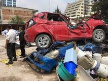 Terremoto del Messico immagini stock libere da diritti