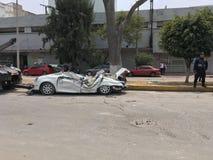 Terremoto del Messico fotografie stock