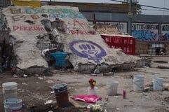 Terremoto del Messico immagini stock